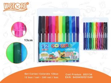 Set Carioci Colorate 12buc 052134