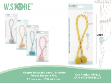 Magnet Decorativ pentru Prindere Perdea Draperie F002 054612