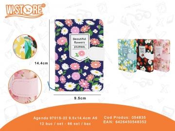 Agenda 9701S-22 9.5x14.4cm A6 054835