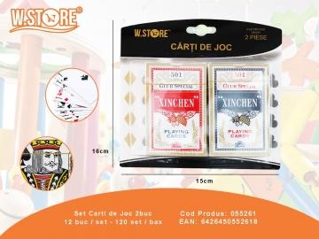 Set Carti de Joc 2buc 055261