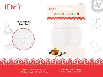 Elastic Plat 4.0cm x 1m 055905