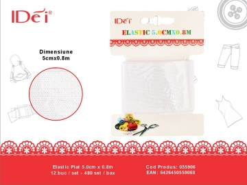 Elastic Plat 5.0cm x 0.8m 055906