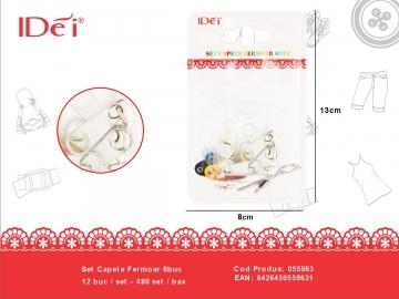Set Capete Fermoar 6buc 055963