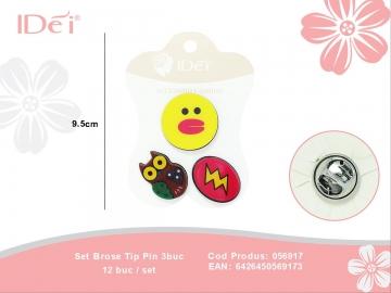 Set Brose Tip Pin 3buc 056917