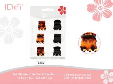 Set Clestisori de Par 2.3cm 6buc 057723