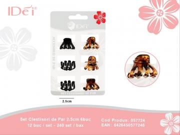 Set Clestisori de Par 2.5cm 6buc 057724