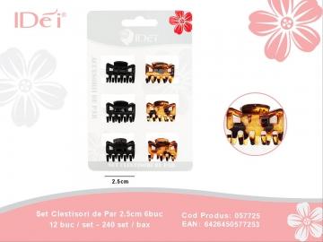 Set Clestisori de Par 2.5cm 6buc 057725