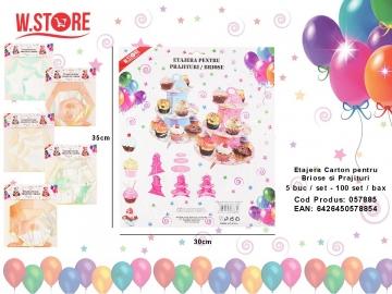 Etajera Carton pentru Briose si Prajituri 057885