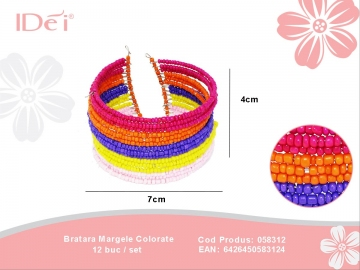 Bratara Margele Colorate 058312