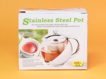 Ceainic Inox 500 ml. BUC0635