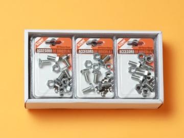 Set Suruburi Cap Hexagonal 8x16 mm + Piulita 8 mm BRI0090