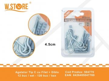 Agatator Tip C cu Filet + Diblu 504776