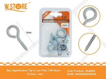 Set agatatori Tip O cu Filet 14# BRI0083