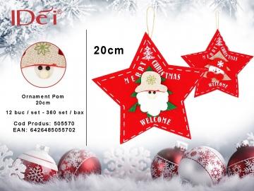 Ornament Pom 20cm 505570