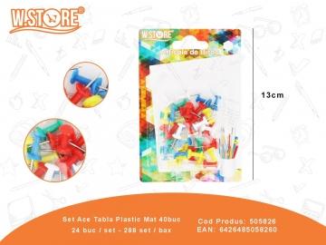 Set Ace Tabla Plastic Mat 40buc 505826