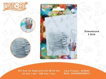 Set Ace de Siguranta AG 2# 50 buc 505843