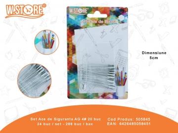 Set Ace de Siguranta AG 4# 20 buc 505845