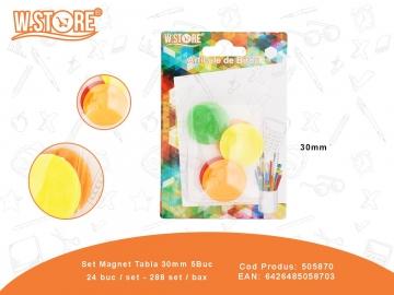 Set Magnet Tabla 30mm 5Buc 505870