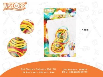 Set Elastice Colorate 25# 15G 505877