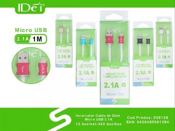 Incarcator Cablu de Date Micro USB 2.1A 506128