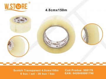 Scotch Transparent 4.8cmx150m 506179