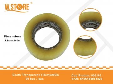 Scoth Transparent 4.8cmx200m 506182