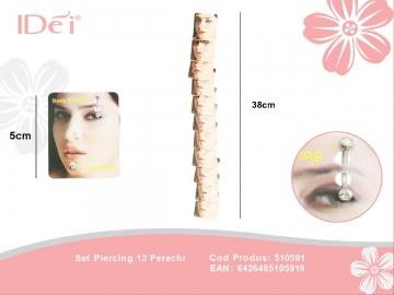 Set Piercing 12 Perechi 510591