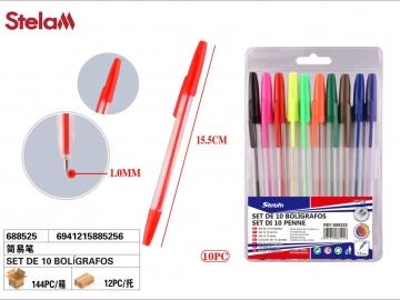 Set Pixuri Colorate 10buc 688525