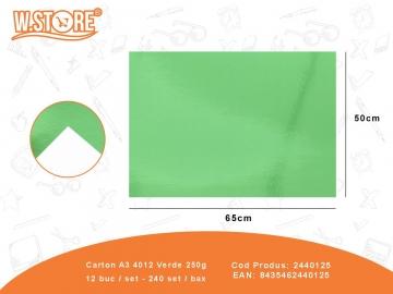 Carton A3 4012 Verde 250g 2440125