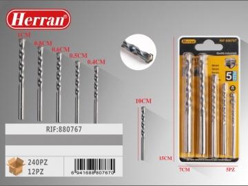 Set Bughiu 4-5-6-8-10mm 5buc 880767