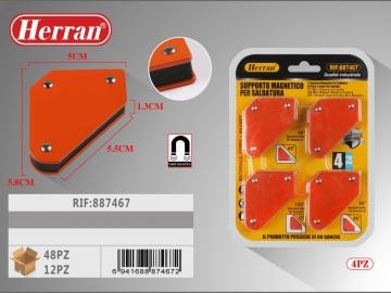 Set Vinclu magnetic pentru sudure 4buc 887467
