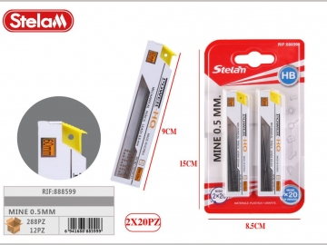Set Mine Creion Mecanic 0.5mm 2buc 888599