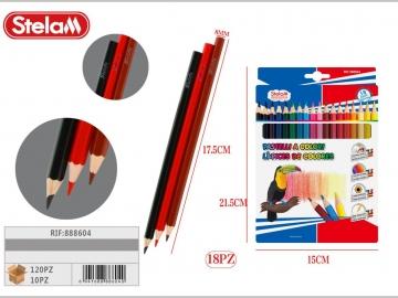 Set Creioane Colorate 18culori 888604