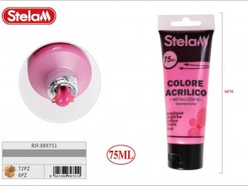 Vopsea Acrilica Roz Metalizat 75ml 889751