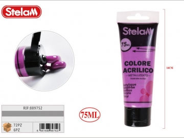 Vopsea Acrilica Violet Metalizat 75ml 889752