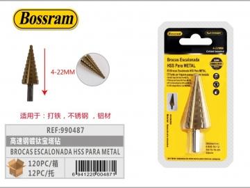 Burghiu Conic in trepte pentru metal 4-22mm 990487
