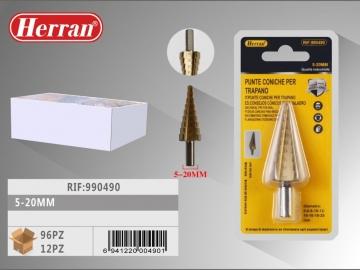 Burghiu Conic in trepte pentru metal 5-20mm 990490